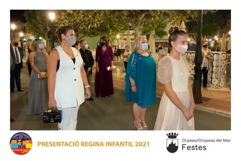 2021-09-25 PRESENTACIÓ REGINA INFANTIL